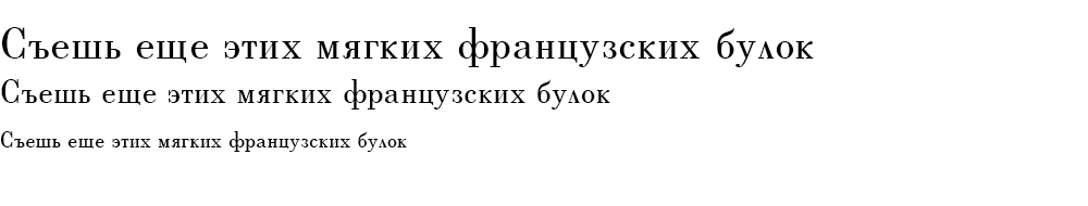Как выглядит шрифт BerenisADFPro